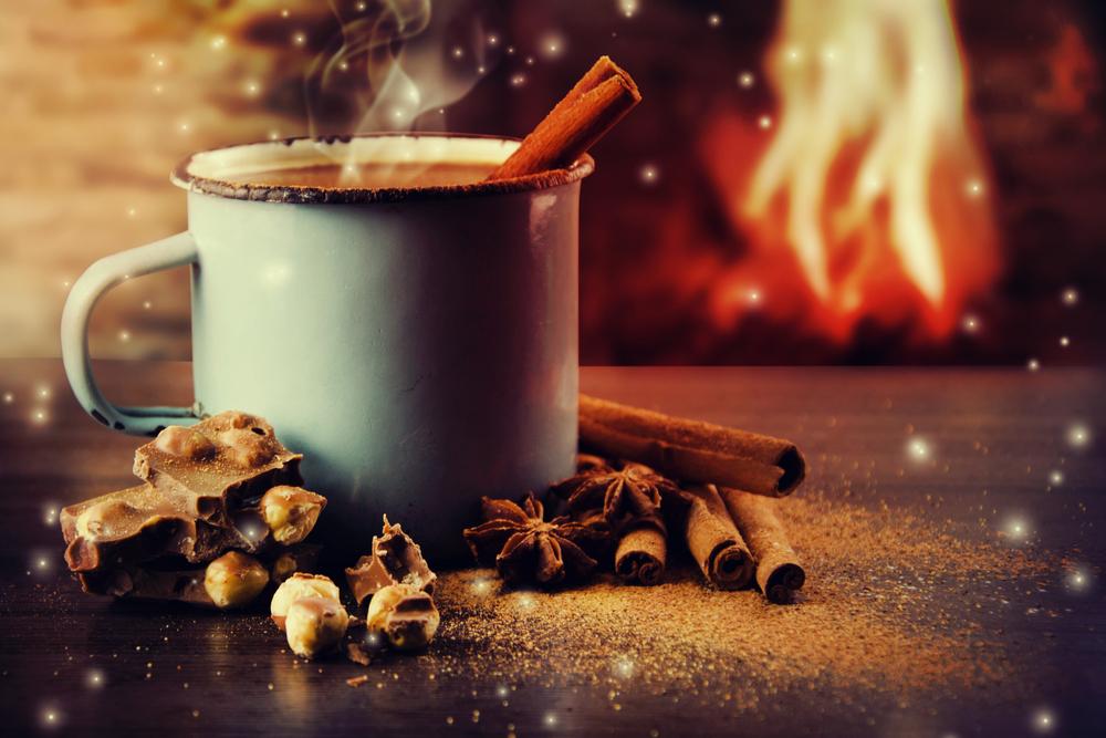 hot chocolate photography warm winter