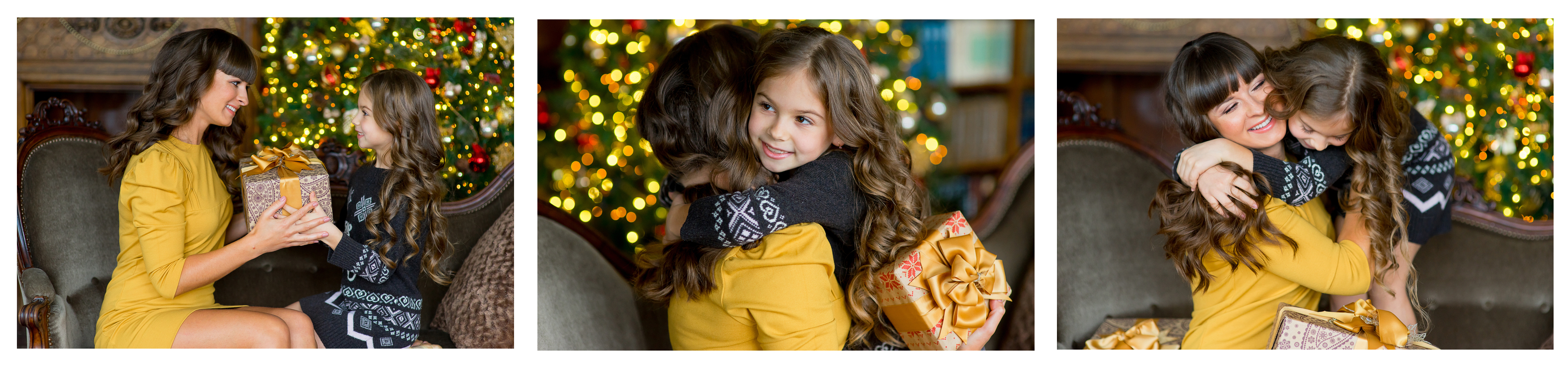 how to photograph family at christmas