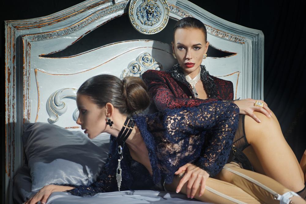 International Women's Day Photography Jemima Stehli female fashion bed