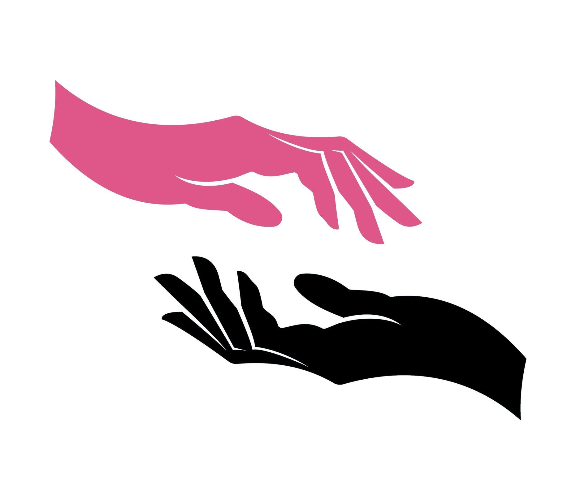 International Women's Day Photography hands pink black
