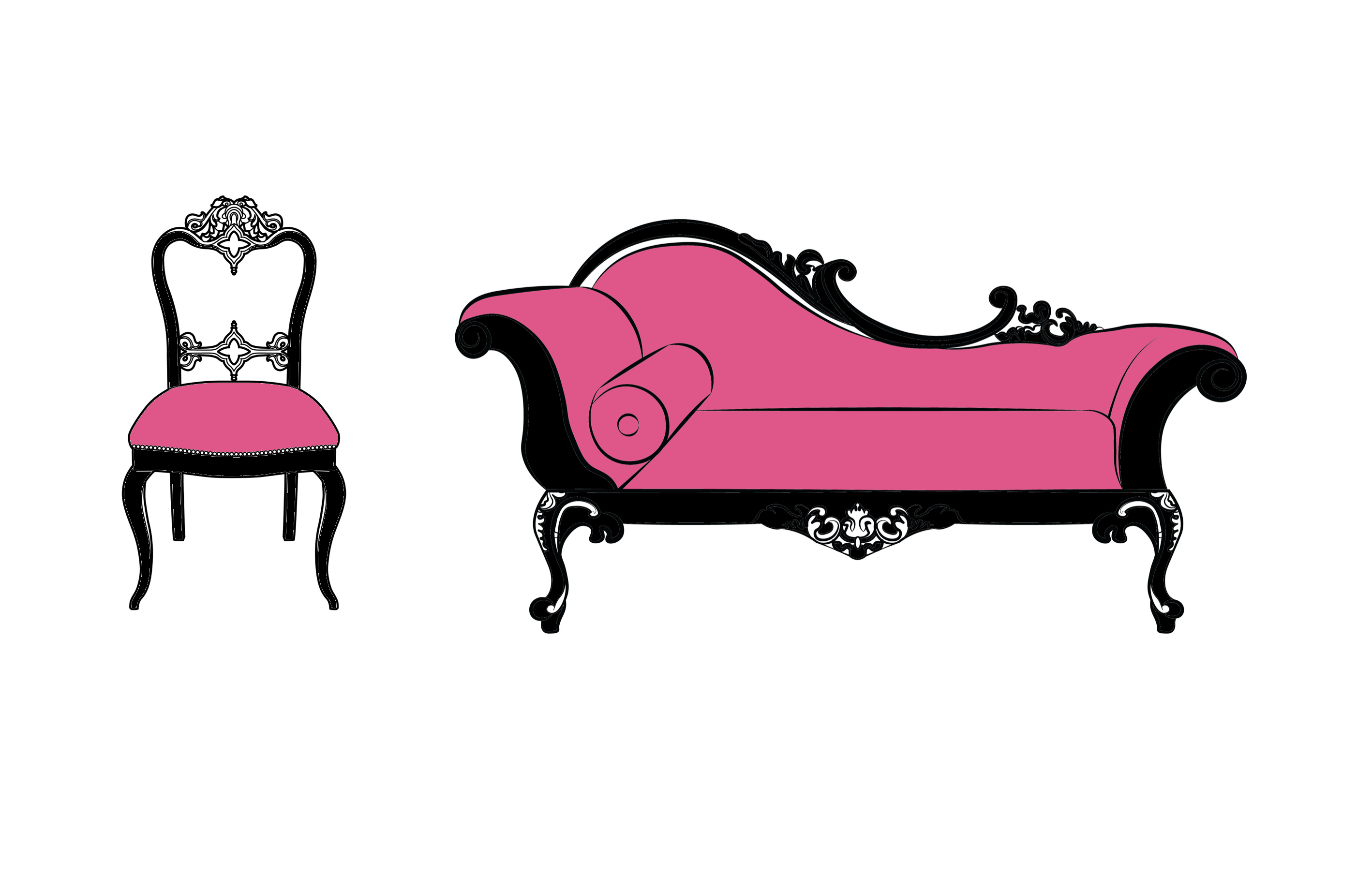 International Women's Day Photography chaise long chair french boudoir