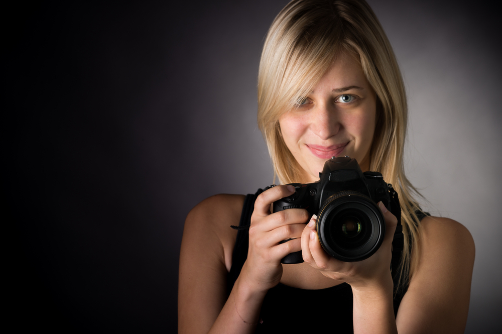 International Women's Day Photography female photo camera